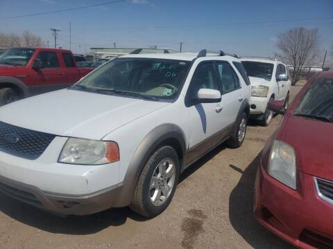 2005 Ford Freestyle for sale at PYRAMID MOTORS - Fountain Lot in Fountain CO