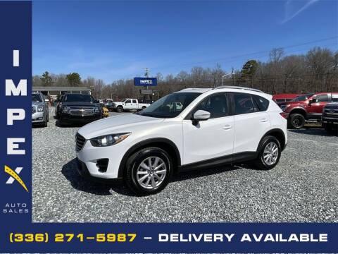 2016 Mazda CX-5 for sale at Impex Auto Sales in Greensboro NC