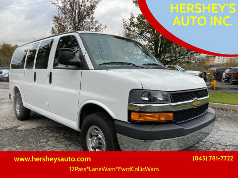 2019 Chevrolet Express Passenger for sale at HERSHEY'S AUTO INC. in Monroe NY