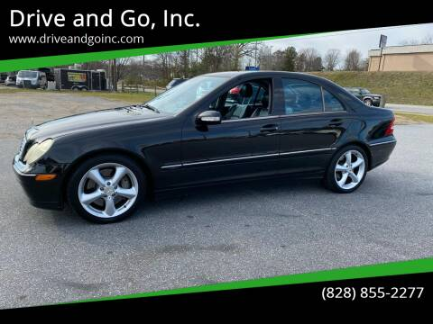 2004 Mercedes-Benz C-Class for sale at Drive and Go, Inc. in Hickory NC