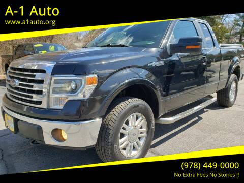 2013 Ford F-150 for sale at A-1 Auto in Pepperell MA