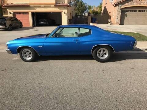 1971 Chevrolet Chevelle for sale at Classic Car Deals in Cadillac MI