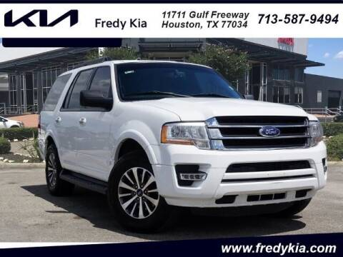 2017 Ford Expedition for sale at FREDY KIA USED CARS in Houston TX