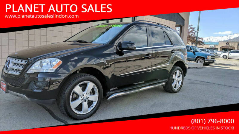 2011 Mercedes-Benz M-Class for sale at PLANET AUTO SALES in Lindon UT