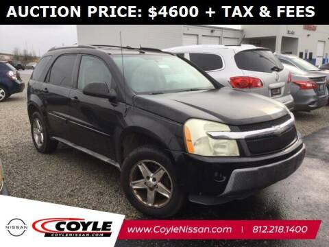2005 Chevrolet Equinox for sale at COYLE GM - COYLE NISSAN - Coyle Nissan in Clarksville IN