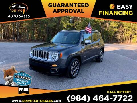 2016 Jeep Renegade for sale at Drive 1 Auto Sales in Wake Forest NC