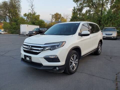 2017 Honda Pilot for sale at UTAH AUTO EXCHANGE INC in Midvale UT