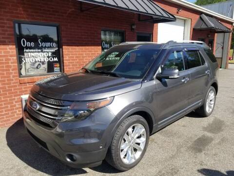 2015 Ford Explorer for sale at One Source Automotive Solutions in Braselton GA