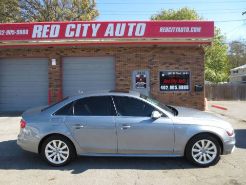 2015 Audi A4 for sale at Red City  Auto in Omaha NE