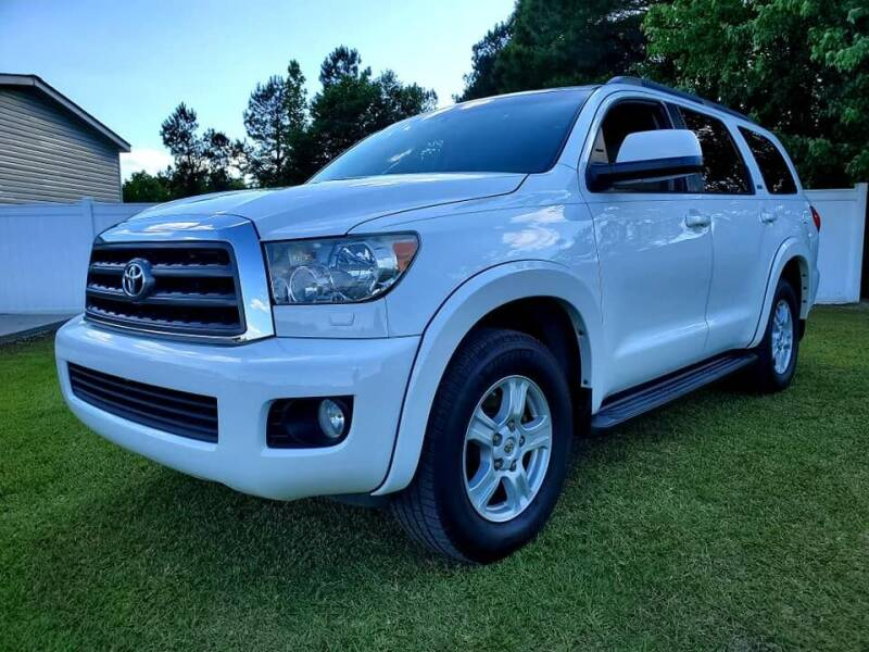 2015 Toyota Sequoia for sale at Real Deals of Florence, LLC in Effingham SC