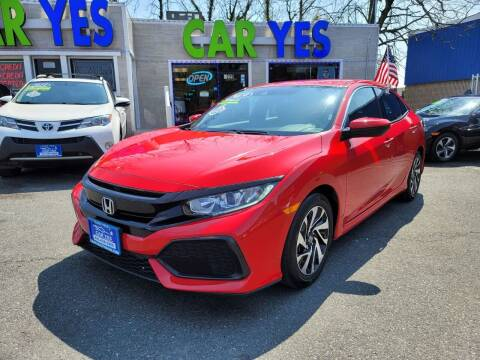 2019 Honda Civic for sale at Car Yes Auto Sales in Baltimore MD