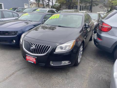 2011 Buick Regal for sale at CLASSIC MOTOR CARS in West Allis WI