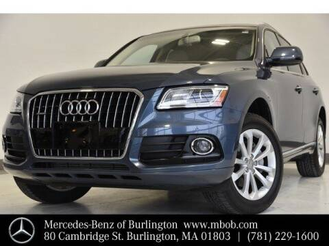 2015 Audi Q5 for sale at Mercedes Benz of Burlington in Burlington MA