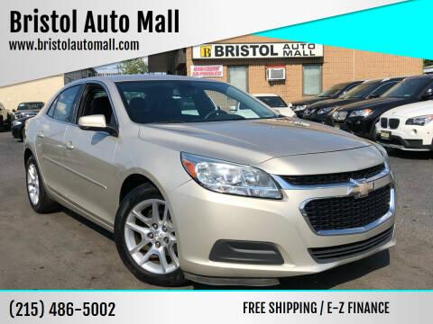 2014 Chevrolet Malibu for sale at Bristol Auto Mall in Levittown PA