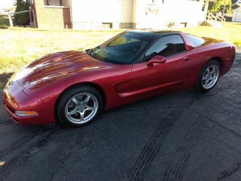 2001 Chevrolet Corvette for sale at Economy Motors in Muncie IN