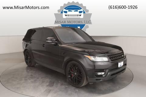 2017 Land Rover Range Rover Sport for sale at Misar Motors in Ada MI