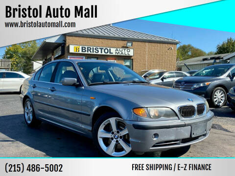 2004 BMW 3 Series for sale at Bristol Auto Mall in Levittown PA