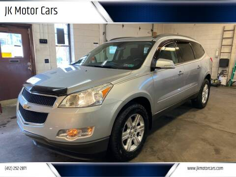 2012 Chevrolet Traverse for sale at JK Motor Cars in Pittsburgh PA