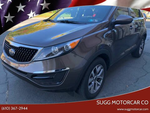 2014 Kia Sportage for sale at Sugg Motorcar Co in Boyertown PA