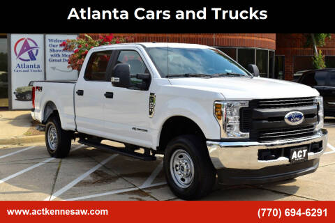 2019 Ford F-250 Super Duty for sale at Atlanta Cars and Trucks in Kennesaw GA
