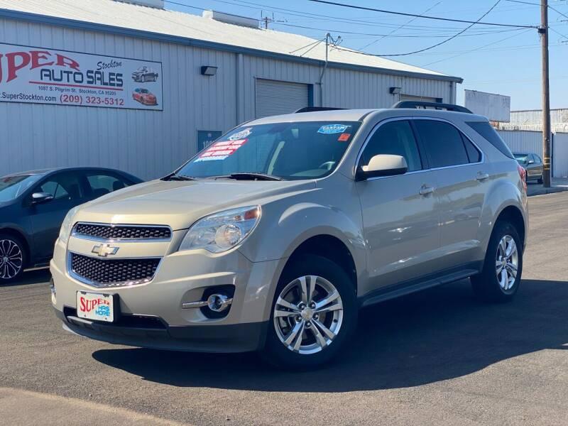 2010 Chevrolet Equinox for sale at SUPER AUTO SALES STOCKTON in Stockton CA