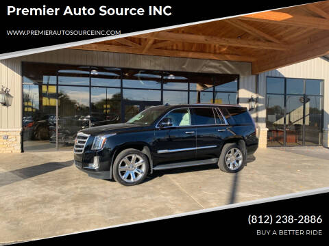 2016 Cadillac Escalade for sale at Premier Auto Source INC in Terre Haute IN