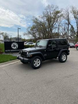 2015 Jeep Wrangler for sale at Station 45 Auto Sales Inc in Allendale MI