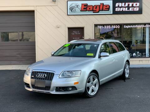 2008 Audi A6 for sale at Eagle Auto Sales LLC in Holbrook MA