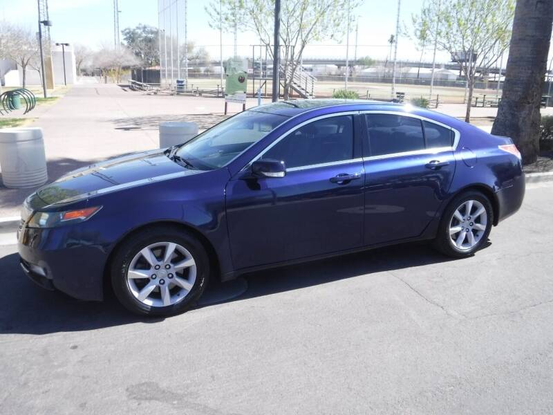 2013 Acura TL for sale at J & E Auto Sales in Phoenix AZ