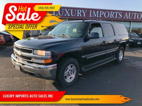 2006 Chevrolet Suburban for sale at LUXURY IMPORTS AUTO SALES INC in North Branch MN