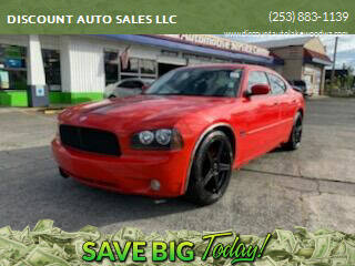 2008 Dodge Charger for sale at DISCOUNT AUTO SALES LLC in Spanaway WA