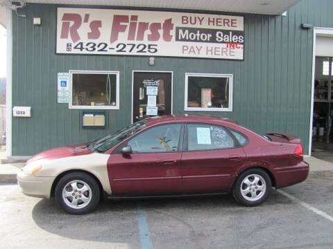 2005 Ford Taurus for sale at R's First Motor Sales Inc in Cambridge OH