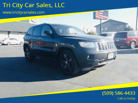 2011 Jeep Grand Cherokee for sale at Tri City Car Sales, LLC in Kennewick WA