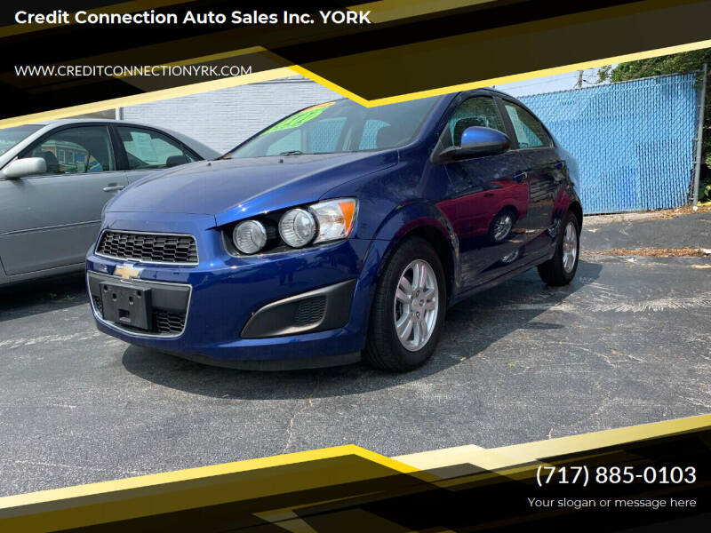 2012 Chevrolet Sonic for sale at Credit Connection Auto Sales Inc. YORK in York PA
