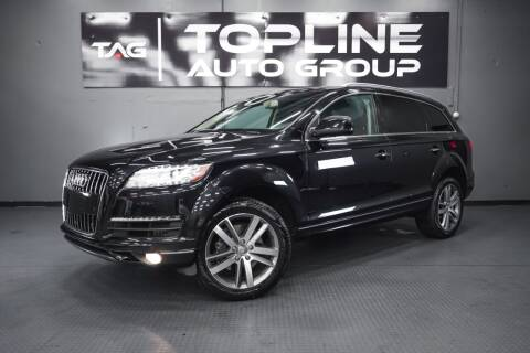 2013 Audi Q7 for sale at TOPLINE AUTO GROUP in Kent WA
