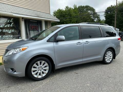 2012 Toyota Sienna for sale at Real Deal Auto Sales in Auburn ME