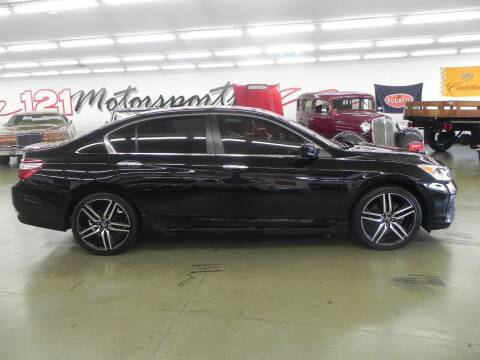 2017 Honda Accord for sale at 121 Motorsports in Mt. Zion IL