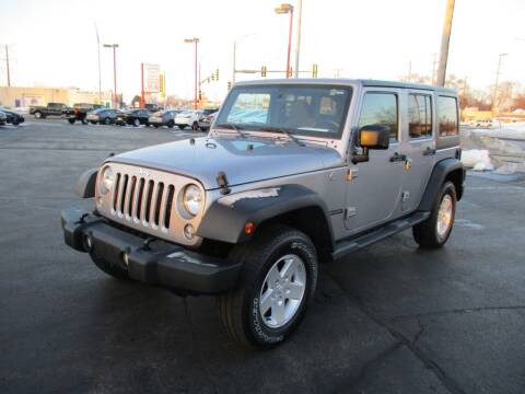 2018 Jeep Wrangler JK Unlimited for sale at Windsor Auto Sales in Loves Park IL