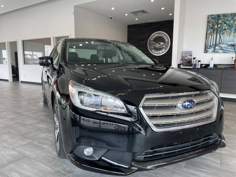 2015 Subaru Legacy for sale at Evolution Autos in Whiteland IN