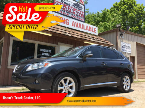 2010 Lexus RX 350 for sale at Oscar's Truck Center, LLC in Houston TX