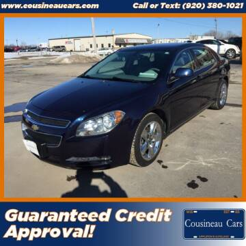 2010 Chevrolet Malibu for sale at CousineauCars.com in Appleton WI