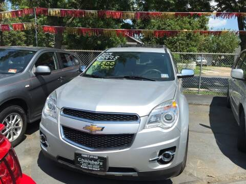 2014 Chevrolet Equinox for sale at Chambers Auto Sales LLC in Trenton NJ