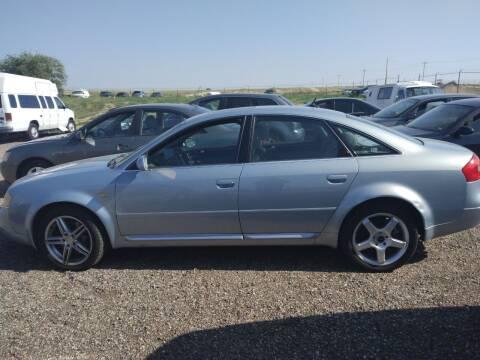 2002 Audi A6 for sale at PYRAMID MOTORS - Pueblo Lot in Pueblo CO