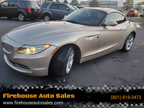 2012 BMW Z4 for sale at Firehouse Auto Sales in Springville UT