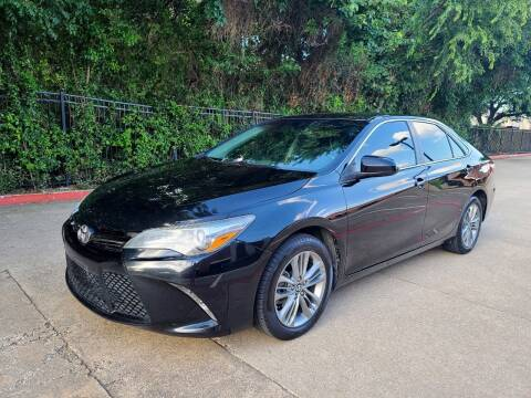 2016 Toyota Camry for sale at DFW Autohaus in Dallas TX