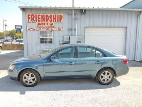 2006 Hyundai Sonata for sale at Friendship Auto Sales in Broken Arrow OK