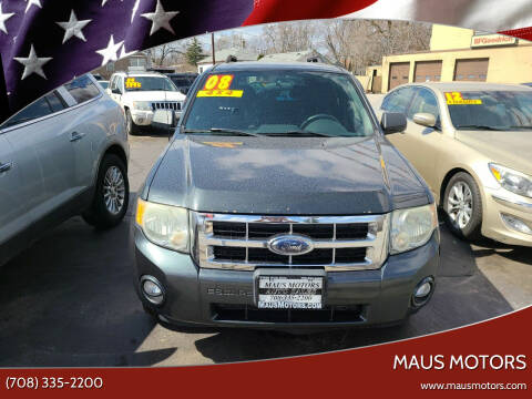 2008 Ford Escape for sale at MAUS MOTORS in Hazel Crest IL