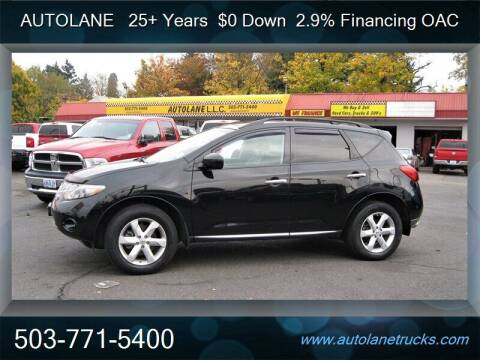 2009 Nissan Murano for sale at Auto Lane in Portland OR