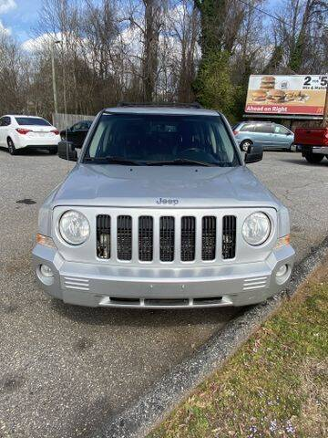 2010 Jeep Patriot for sale at Deluxe Auto Group Inc in Conover NC