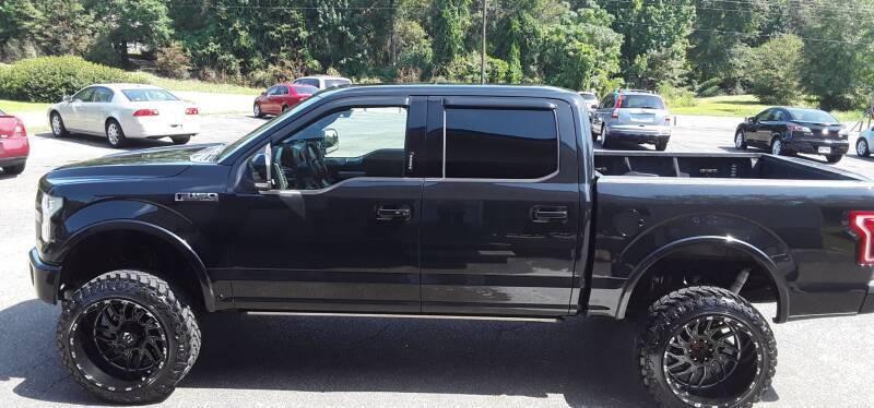 2015 Ford F-150 for sale at WALKER MOTORS LLC in Hattiesburg MS